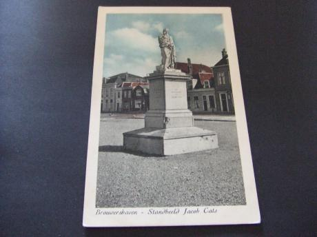 Brouwershaven standbeeld Jacob Cats Nederlands dichter
