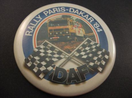 Rally Paris Dakar 1984 DAF Truckstar Jan de Rooy
