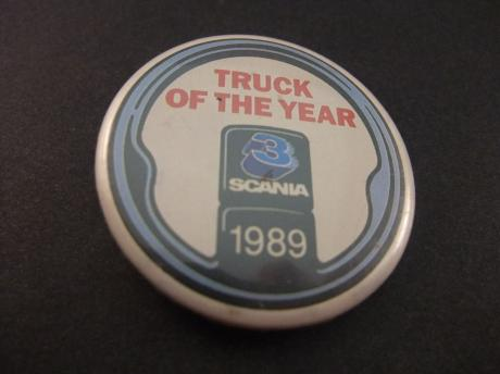 Scania Truck of the Year 1989