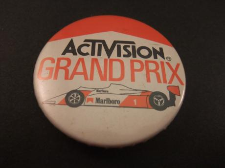Activision Grand Prix motor racing video game.Atari 2600