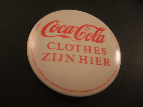 Coca Cola clothes merkkleding