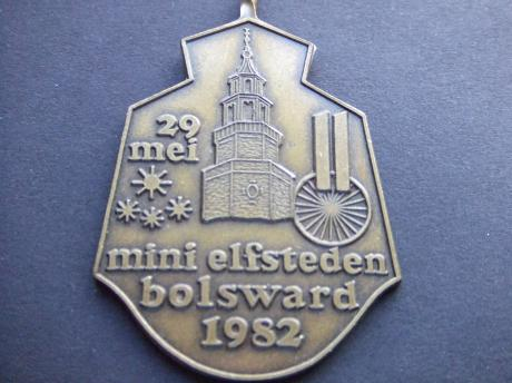 Bolsward Friesland Mini Elfstedentocht 1982