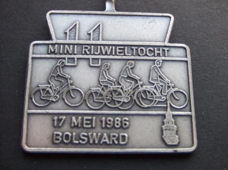 Bolsward Friesland Mini Elfstedentocht 1986