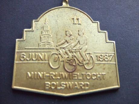 Bolsward Friesland Mini Elfstedentocht 1987