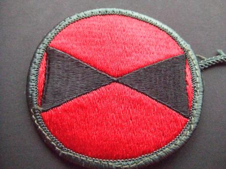 7th Infantry Division United States badge schouderembleem