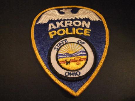 Akron Police Department, Akron, Ohio badge