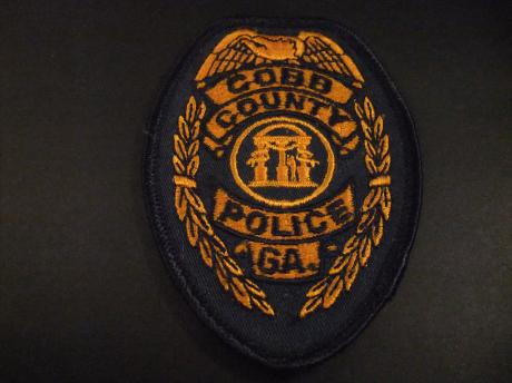 Cobb County Police Department, Marietta, Georgia, badge