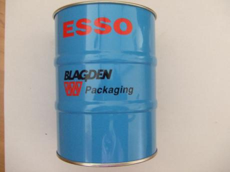 Esso BLAGDEN PACKAGING olievat blikje