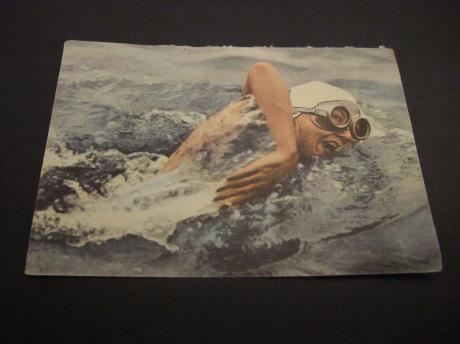 Florence Chadwick Amerikaanse lange afstand zwemster in open water 1952