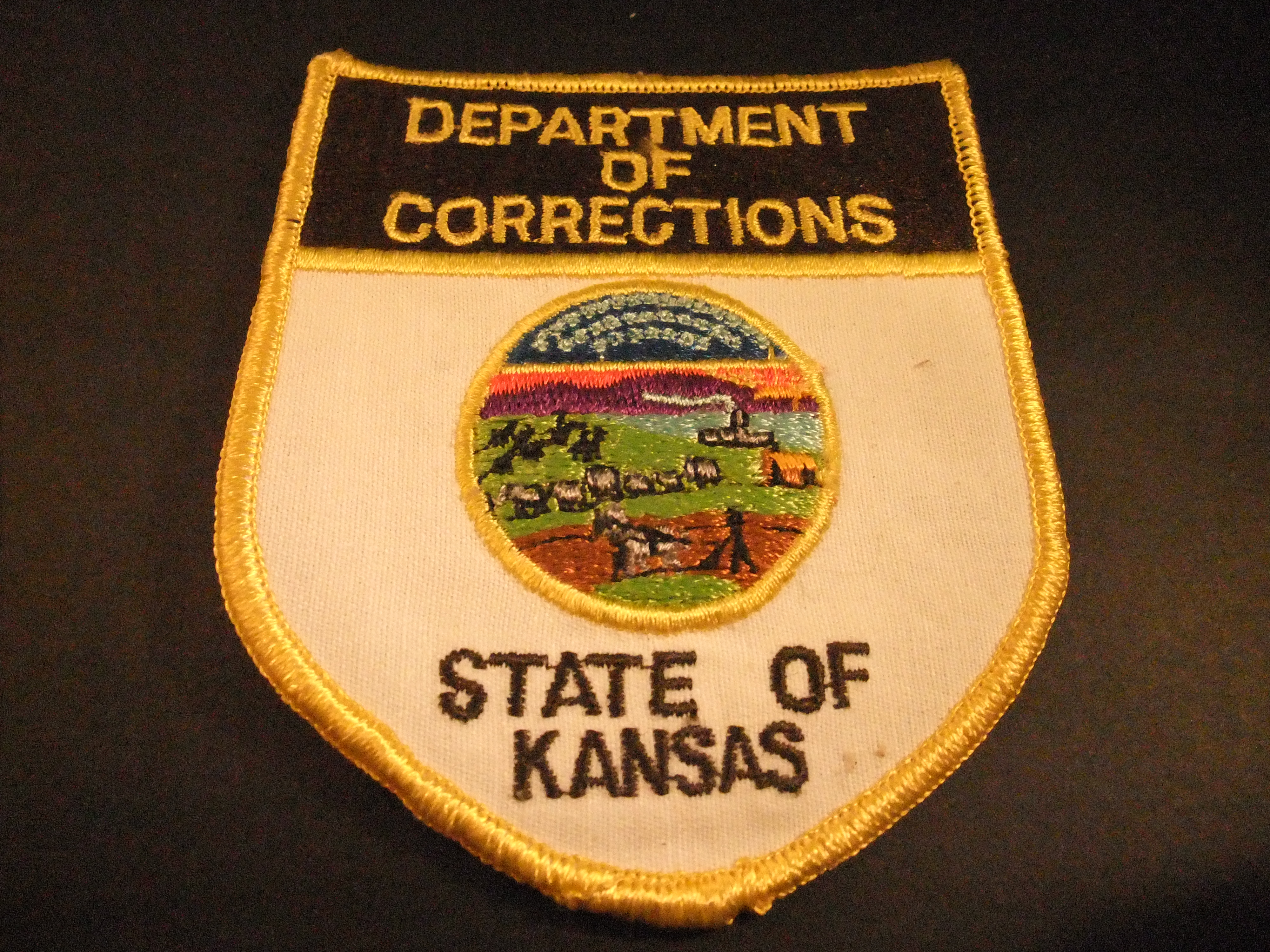 Kansas Department of Corrections (Penitentiaire inrichting) badge