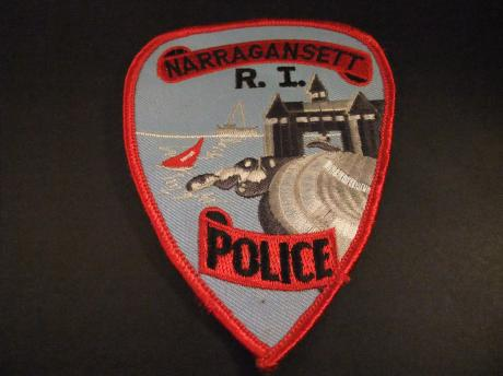 Narragansett, Rhode Island Police Department badge