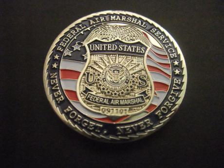 US Federal Air Marshal Service Never Forget