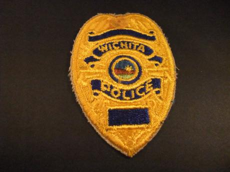 Wichita Police Department Kansas USA badge