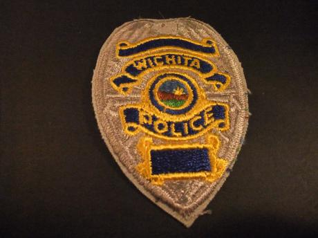 Wichita Police Department Kansas badge