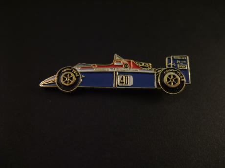 Formule 2 racewagen (Williams met Honda motor)