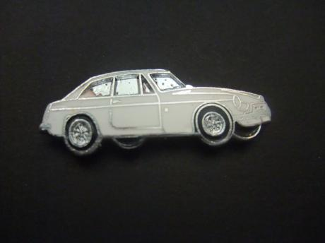 MG B GT Mark II 1967 - 1971 oldtimer wit