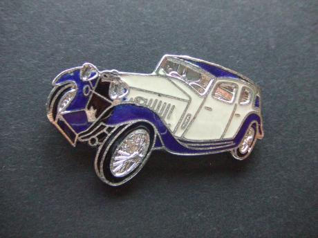 MG SA Saloon 1936 blauw-wit