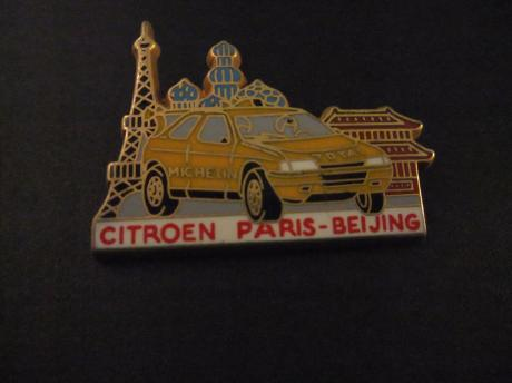 Citroën Rally , Paris-Beijing 1990 ( Citroën ZX)