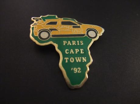 Citroën ZX Paris -Capetown rally 1992 Camel