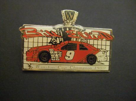 Stock Car Auto Racing ( Nascar) Winston cup champion 1988 winnaar Bill Elliot