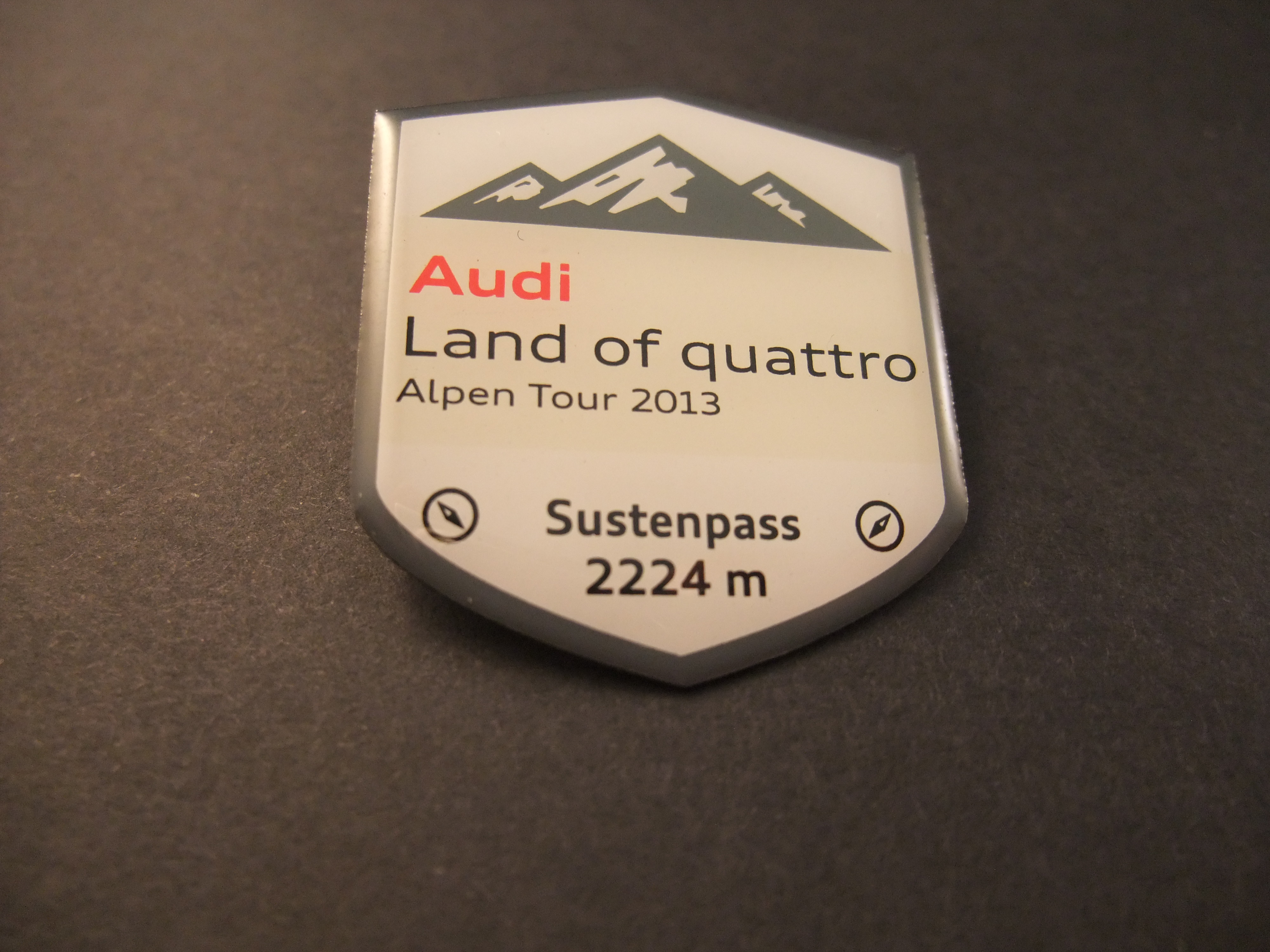 Audi Land of quattro Alpen Tour 2013 Susten Pass 2224 m