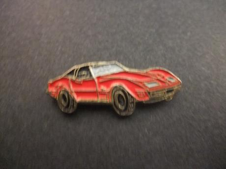 Chevrolet Corvette pace car 1976 , rood model