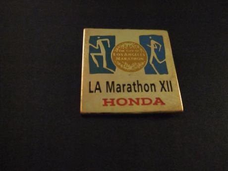 City of Los Angeles Marathon sponsor Honda