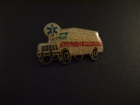Dodge Ambulance 1977 (rescue squad) met esculaap