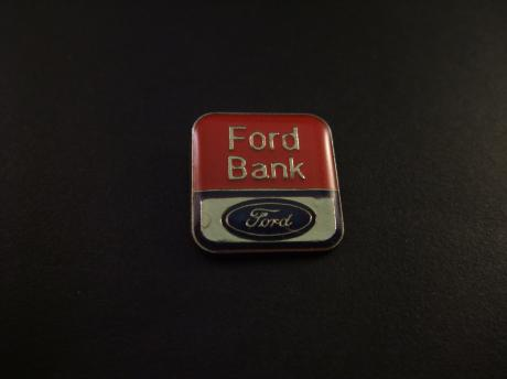 Ford Bank (Ford Credit autofinanciering) logo