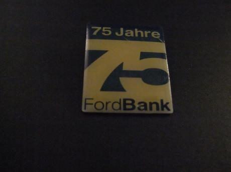 Ford Bank Ford Credit autofinanciering 75 jarig jubileum