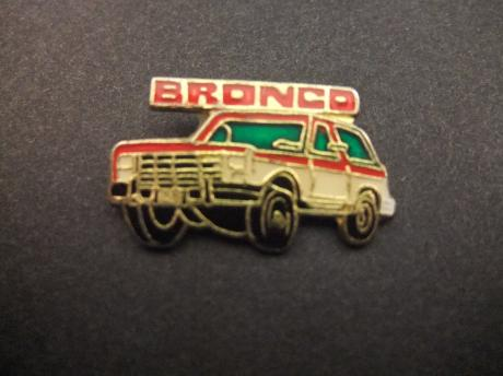 Ford Bronco tweedeurs Sports Utility Vehicle terreinwagen