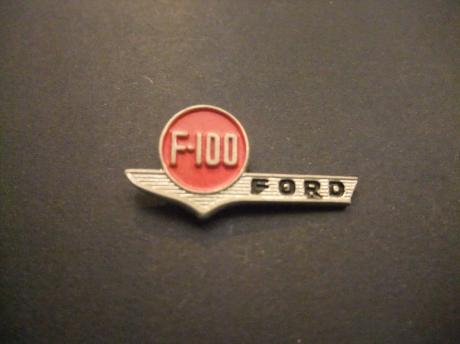 Ford F -100 Pick-Up trucks logo