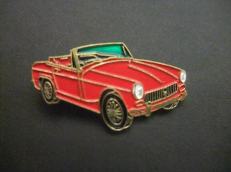 MG C-type Cabriolet 1967 - 1969 rood model