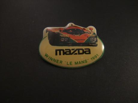 Mazda winner Le Mans 24 Hours 1991 autorally