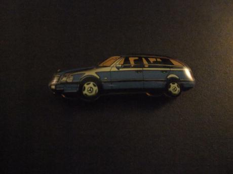 Mercedes -Benz 300 TD Turbo stationcar blauw