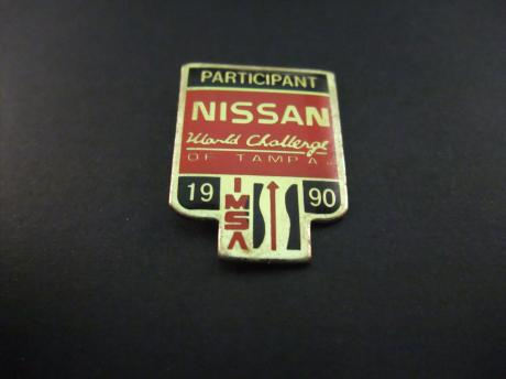 Nissan participant world Challenge Tampa 1990 Racing Sports