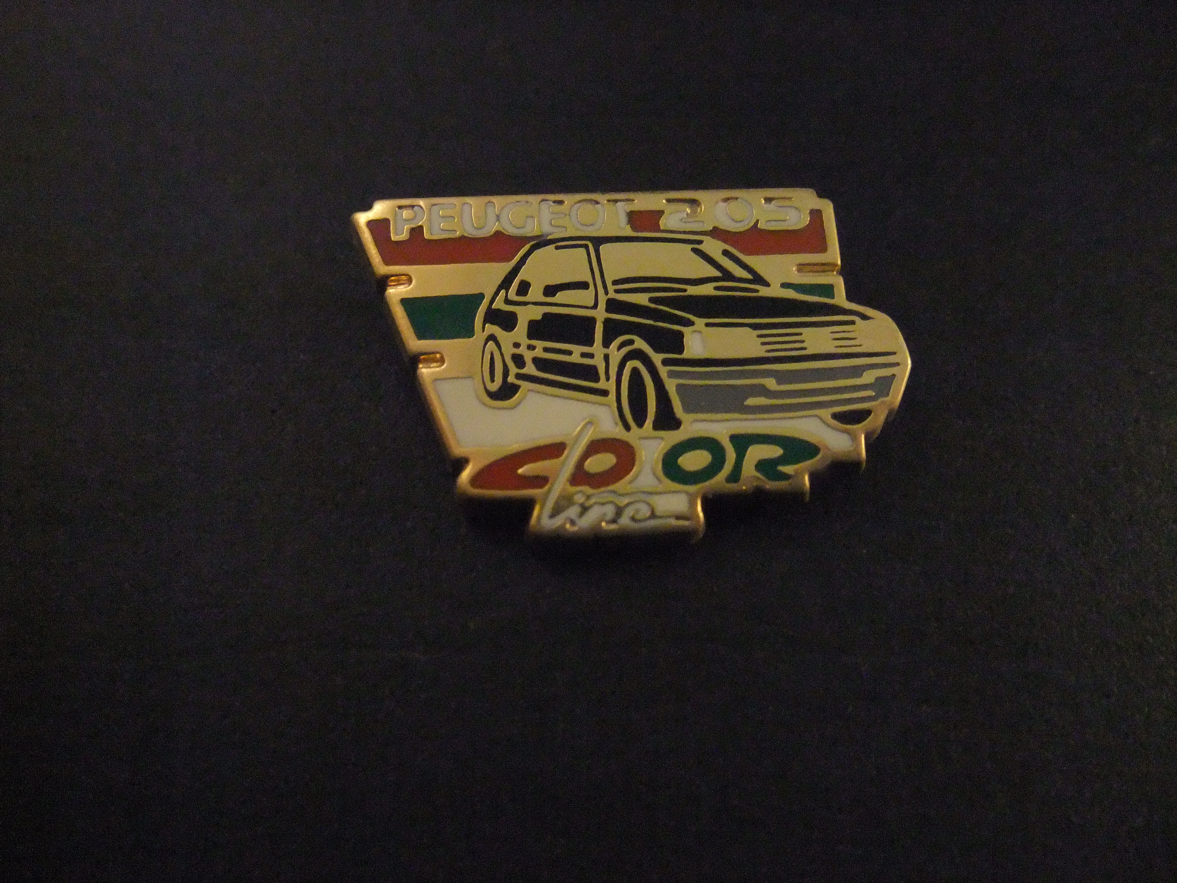 Peugeot 205 Color line groen
