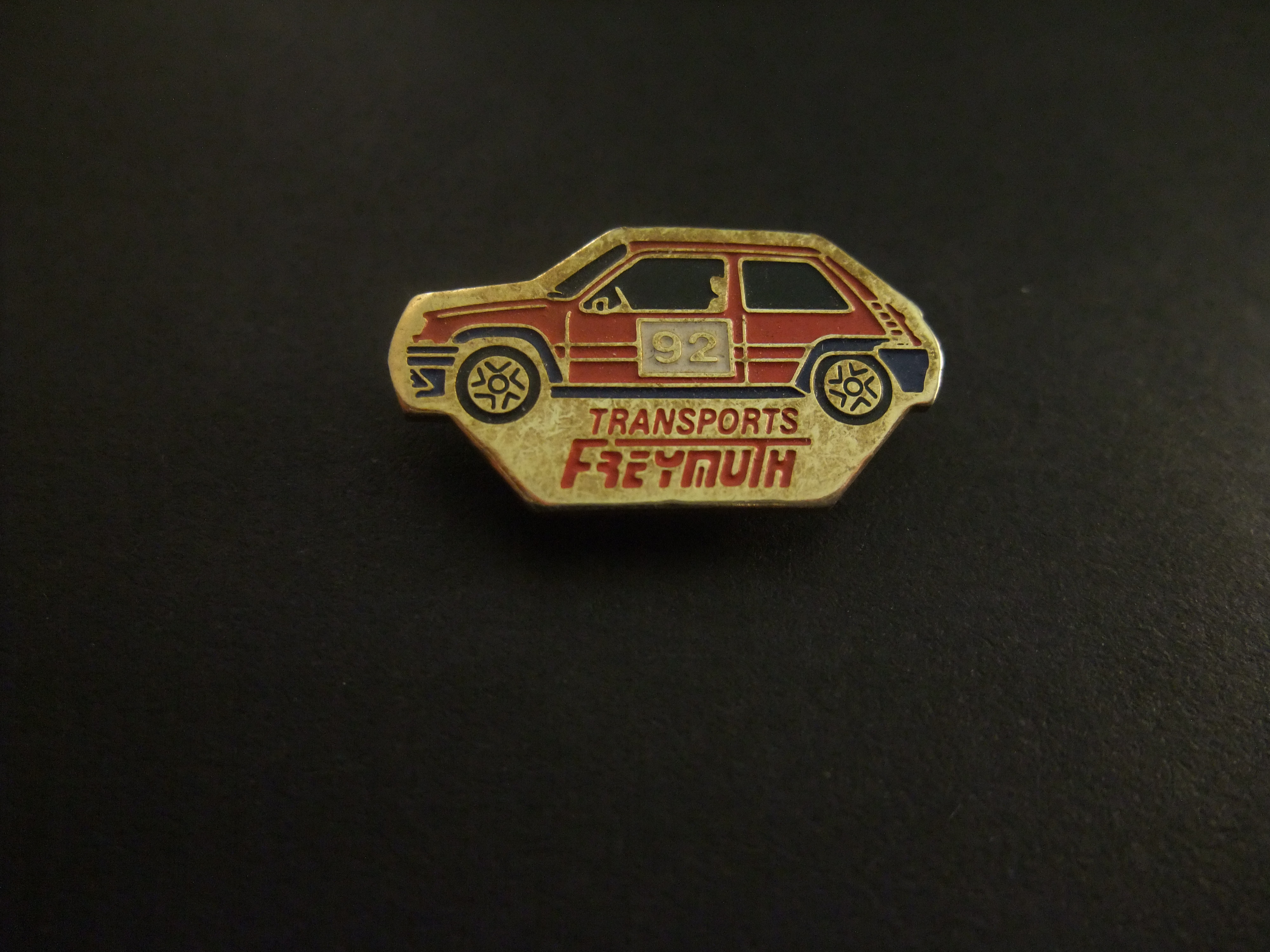 Renault 5 Alpine Turbo ( Luxemburgse Transport firma Freymouth) rood