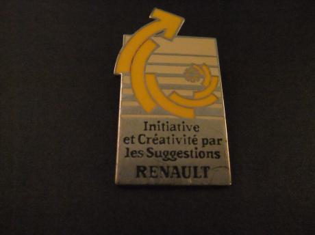 Renault, initiatief en creativiteit door suggesties