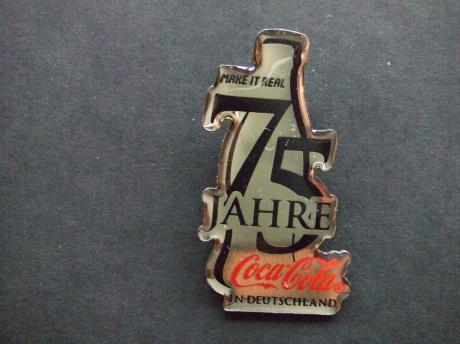 Coca Cola 75 jaar in Duitsland make it real