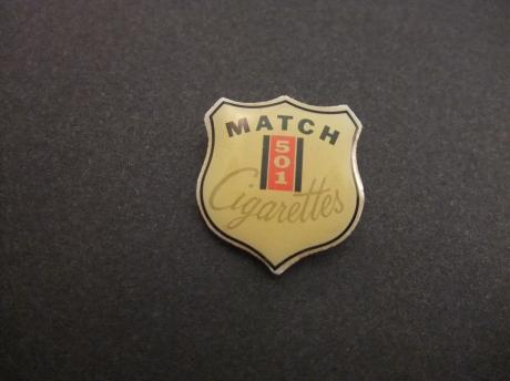 Match 501 cigarettes ( Valor Tobacco Company)