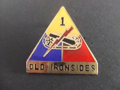 1st Armored Division Old Ironsides USA