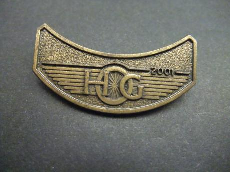 Harley-Davidson Owners Group 2001 wing