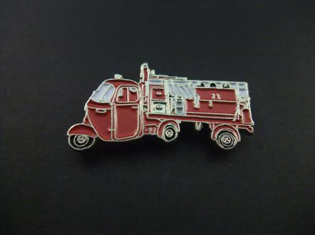 Piaggio Ape modified vehicle a fire truck