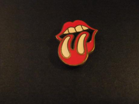 Rolling stones Engelse rock-'n- rollband logo tong