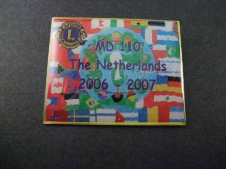 Lions Club International, The Netherlands 2006-2007