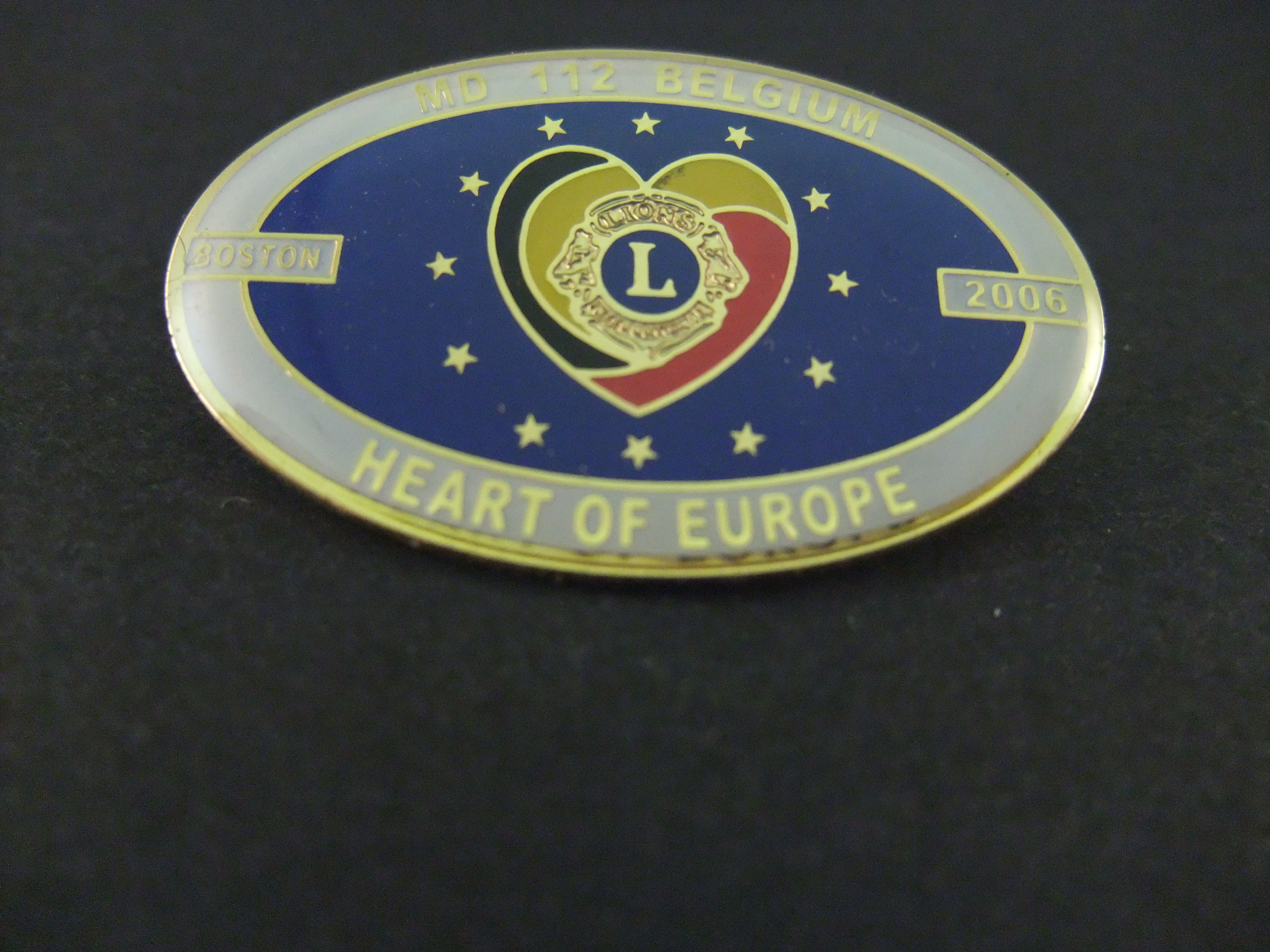 Lions Club International,MD 112 Belgium heart of Europe