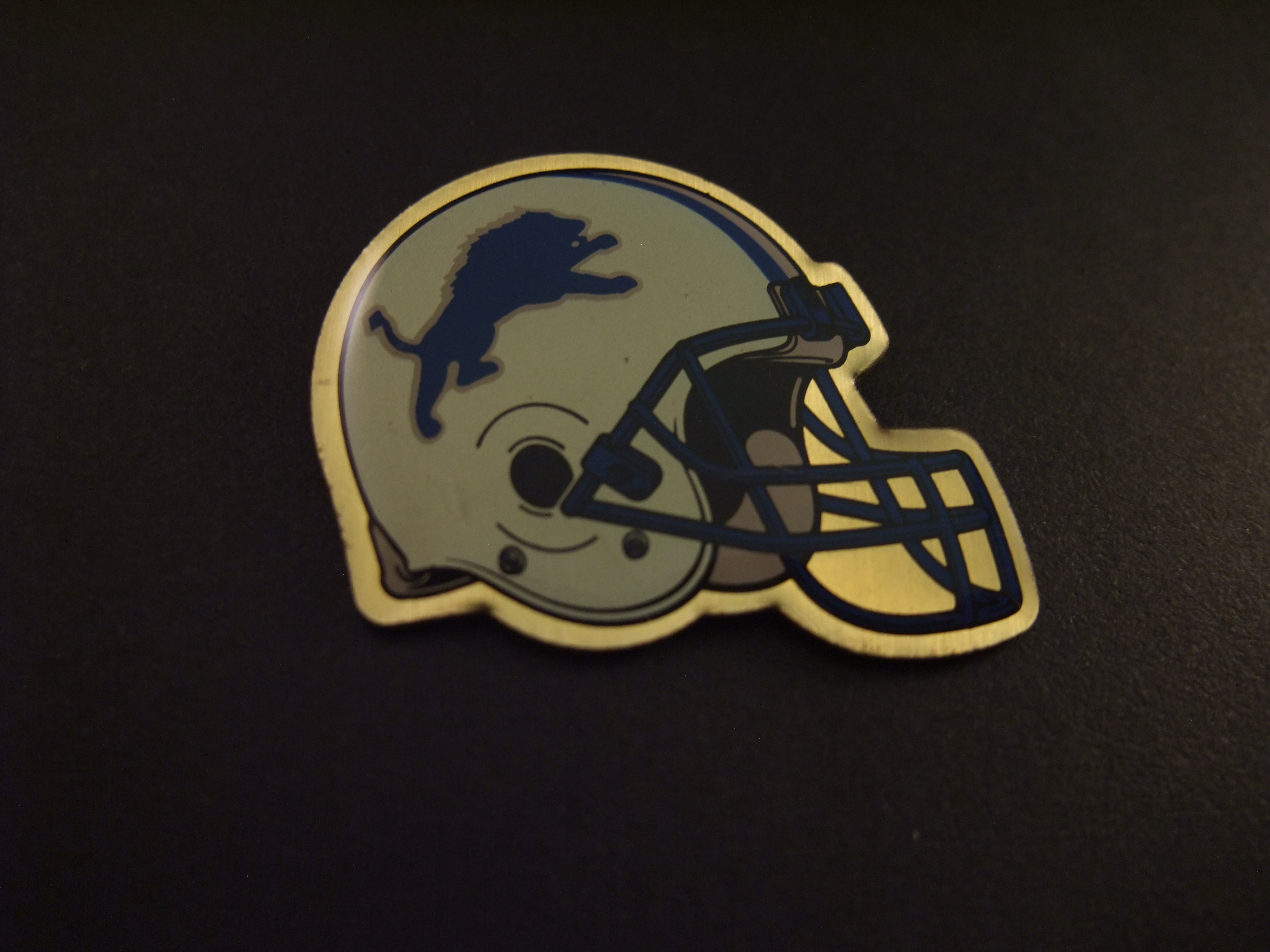 The Detroit Lions American football team NFL(National Football Conference)  helm
