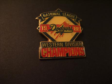 The Los Angeles Dodgers  Western Division & World Series Champions 1988