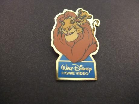 Walt Disney Home Video The Lion King ( leeuwenkoning Mufasa  met Simba( zoon)